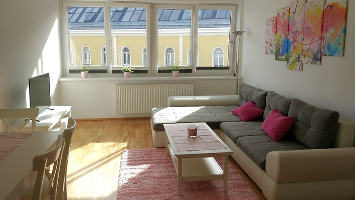 2 room apartment in Vienna, furnished, temporary