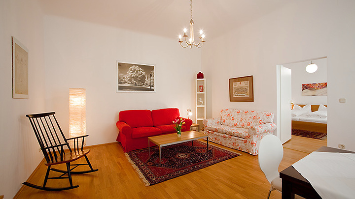 2 room apartment in Wien - 4. Bezirk - Wieden, furnished