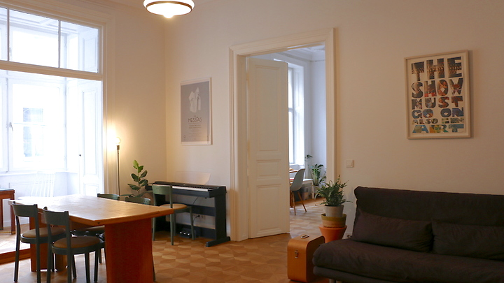 3 room apartment in Wien - 3. Bezirk - Landstraße, furnished, temporary