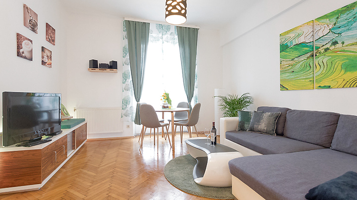 2 room apartment in Wien - 7. Bezirk - Neubau, furnished