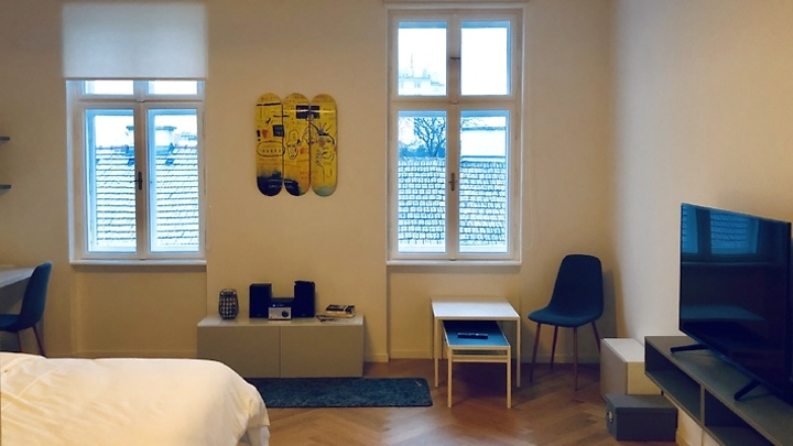 1½ room apartment in Wien - 4. Bezirk - Wieden, furnished