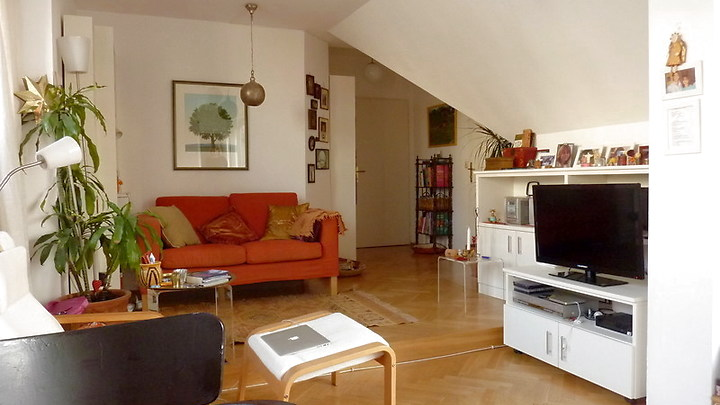 2 room attic apartment in Wien - 7. Bezirk - Neubau, furnished, temporary