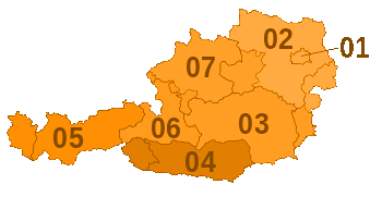 Telephone area codes Austria